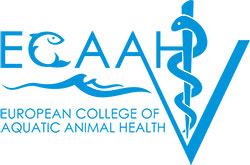 European College of Aquatic Animal Health Logo